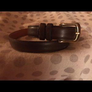 Coach vintage leather belt